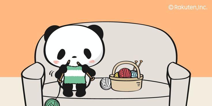 編み編み…何を作っているかはできてからのお楽しみだよー #お買いものパンダ https://t.co/RgRHmUWFTm