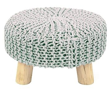 "Stolička ""Rondo II"", výš. 46, Ø 50 cm"