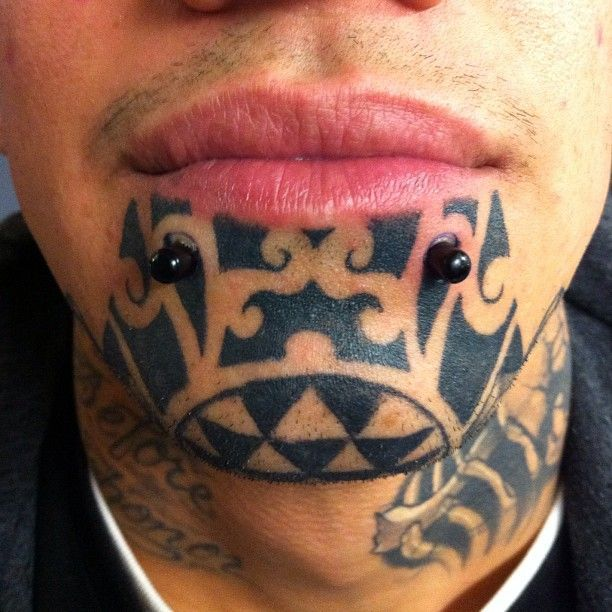 Face tattoos. I don't like all of them but some are nicely done.