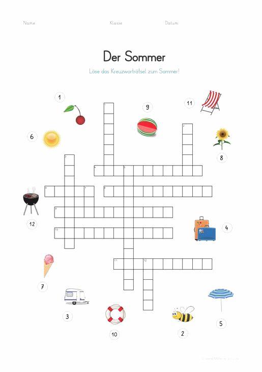 Ein Glücksspiel Kreuzworträtsel