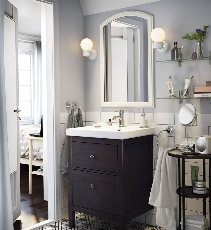 die besten 25 kleines waschbecken mit unterschrank ideen. Black Bedroom Furniture Sets. Home Design Ideas