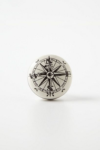 @Jessica Lingenfelter Compass knob from Anthropologie. Audrey's room need any knobs?!