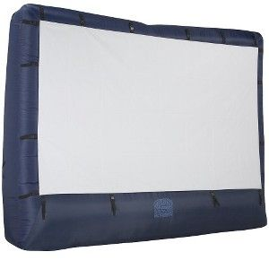 Airblown Inflatable Outdoor Movie Screen with Storage Bag