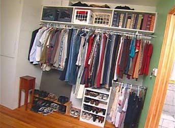 What if you don 39 t have a closet you can always turn a for How do you organize your closet