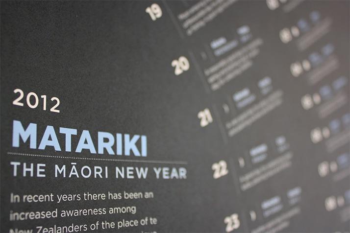 Matariki: poster detail