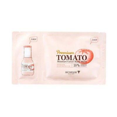 Premium Tomato Whitening Essence & Moisture Cover Mask Sheet