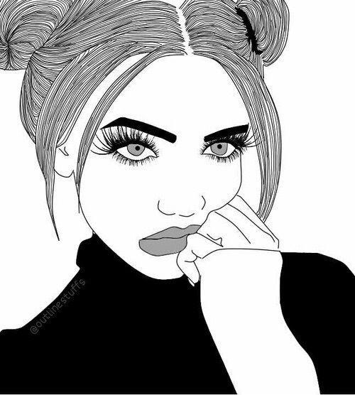 Dibujos Dibujos Tumblr Chica Tumblr Dibujo Dibujos Para Ninos