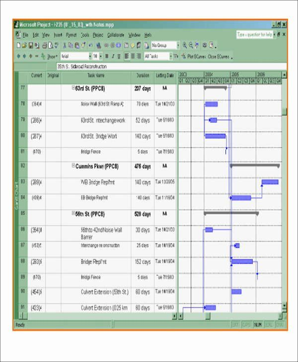 30 Construction Project Schedule Template Excel In 2020