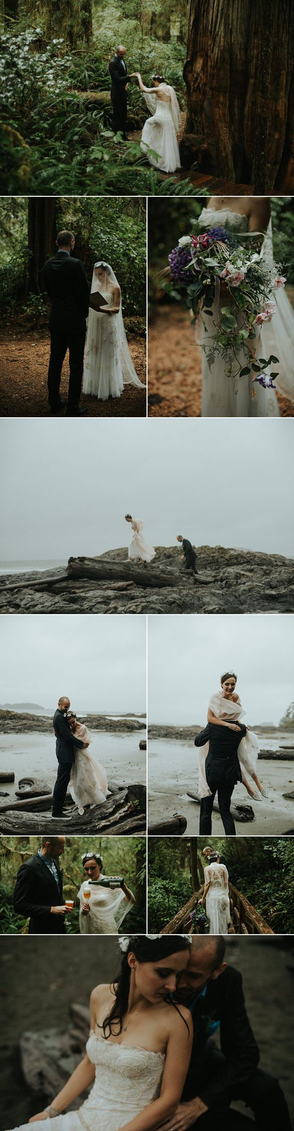 This Tofino beach wedding is one of our 21 favorite elopements |photos by Daring Wanderer