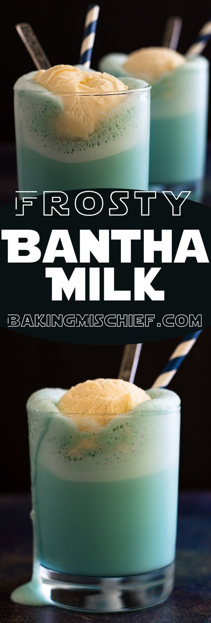 This Frosty Bantha Milk is super easy to make and…