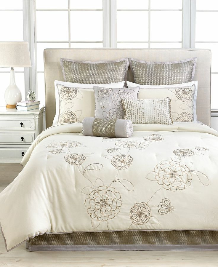 Martha Stewart Collection Calendula 9 Piece Comforter Sets