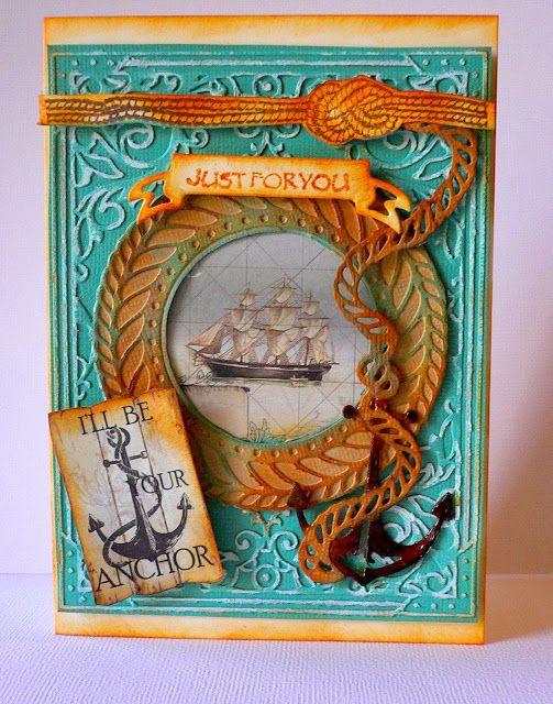 Artdeco Creations Brands: Vintage Sea Breeze Cards created by Adriana Bolzon #seabreeze #couturecreationsaus