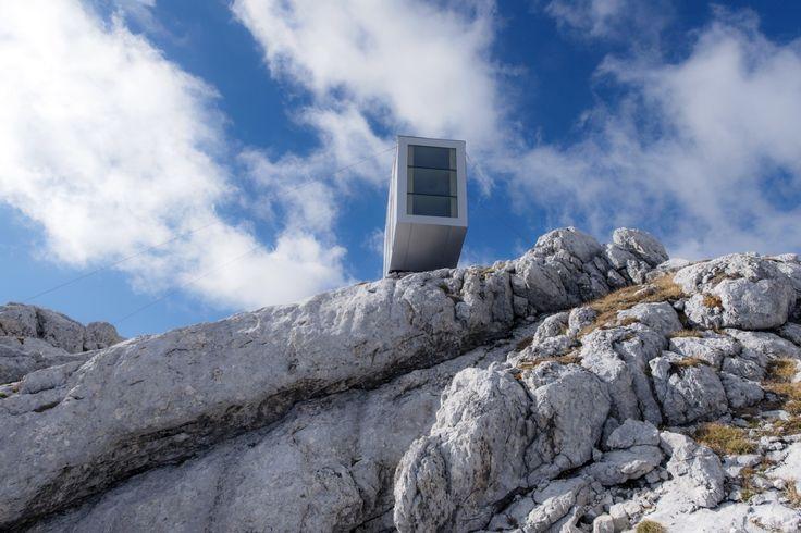 Gallery of Winter Cabin on Mount Kanin / OFIS arhitekti - 4