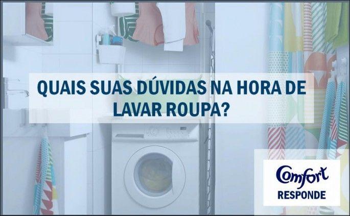 Dúvidas na Lavagem das Roupas : Perguntas de Leitores X Resposta de Especialista Unilever