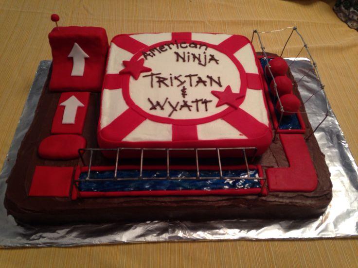 American Ninja Warrior Birthday My Practice Cakes Just