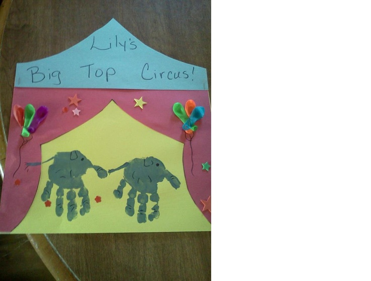 Circus Tent Crafts For Preschoolers