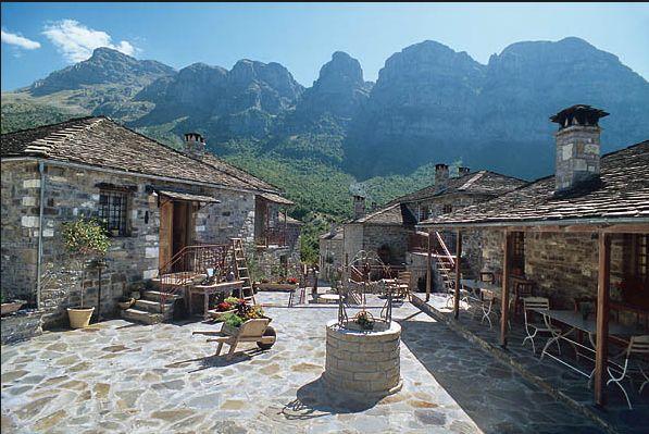 Papigo village, Zagori region, Greece
