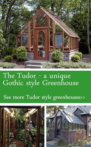 Tudor Greenhouse kits | Sturdi-Built Greenhouses
