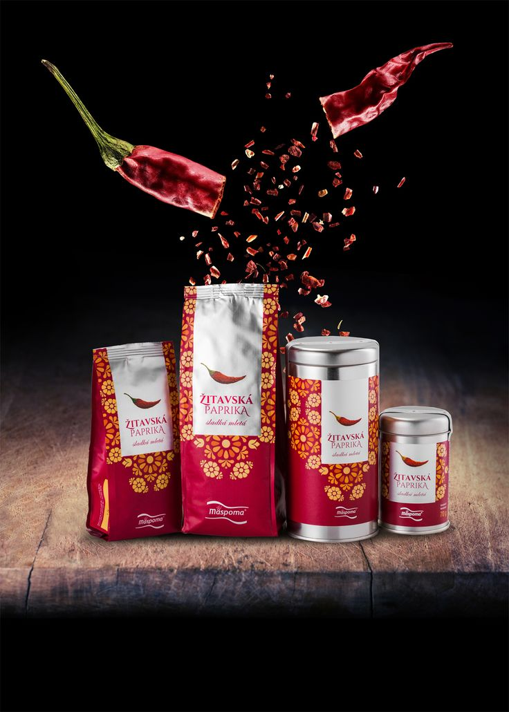 Paprika Zitava Product Design and Advertising