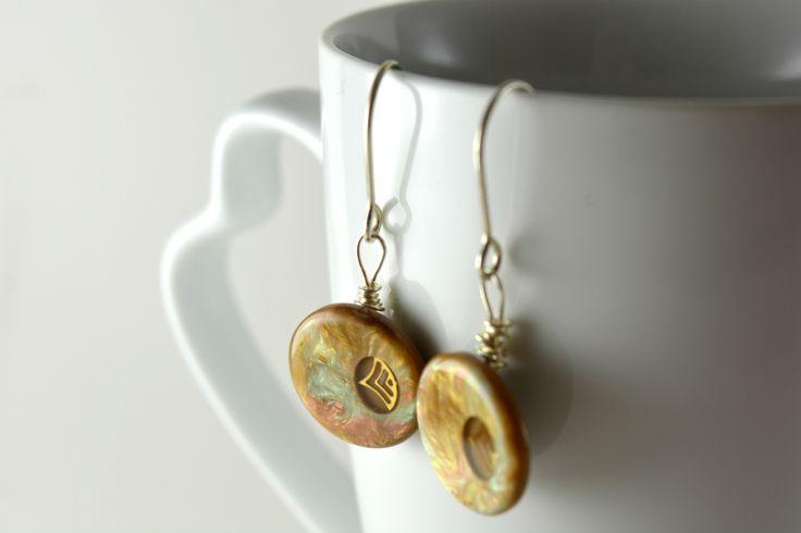#buttons #earrings #handmade