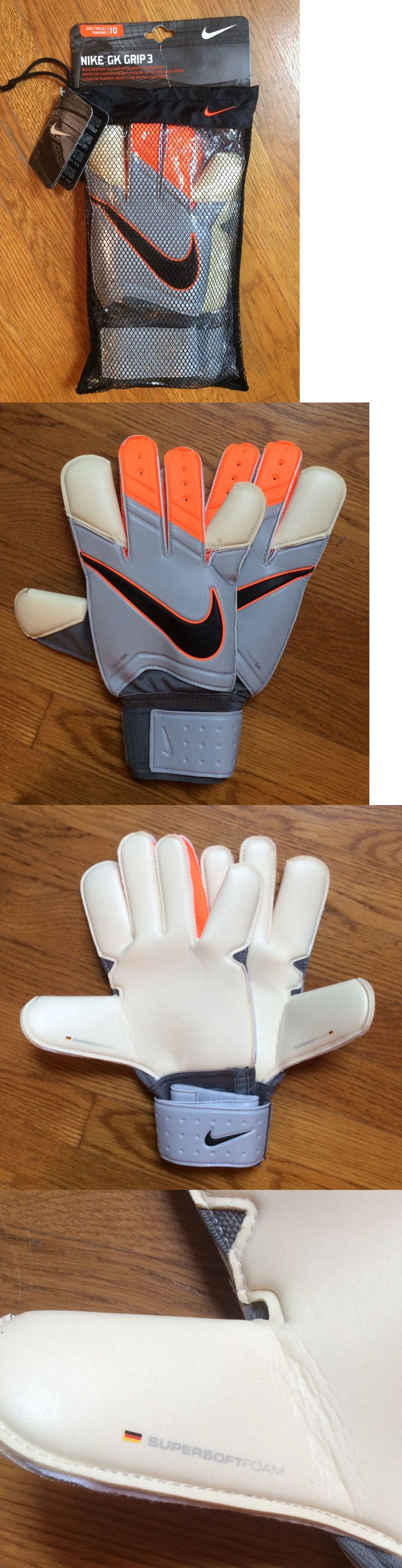 Driving gloves argos - Gloves 57277 Nwt Nike Gk Grip 3 Soccer Goalie Gloves Gs0279 Adult Unisex 10 Or
