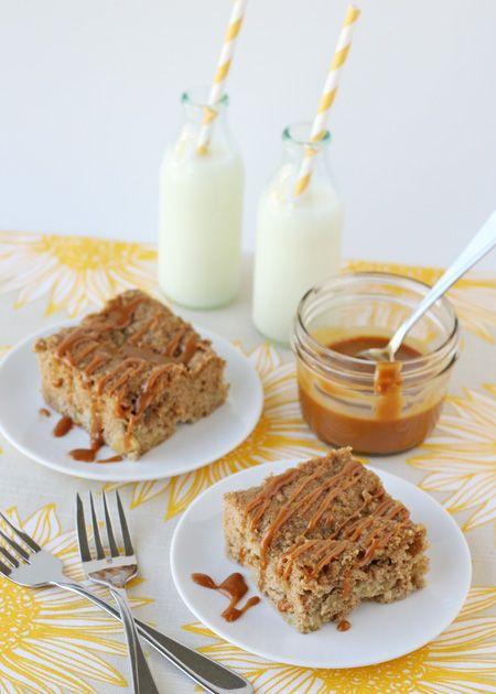 Caramel Apple Coffee Cake