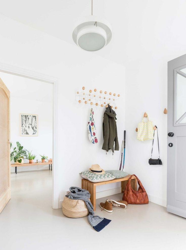 Einfache Dekoration Und Mobel Schlafzimmer Einrichtungstipps Fuer Allergiker #19: Sitzbank Flur Skandinavische Einrichtung