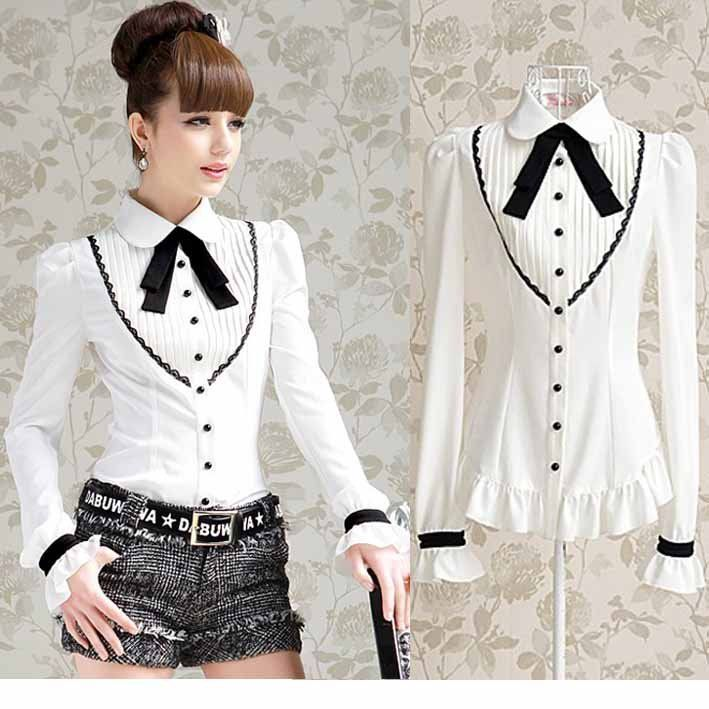 Cheap shirt collar, Buy Quality tie knot shirt directly from China tie silk Suppliers: 1.color. white2. Size: S, M, L, XL3.