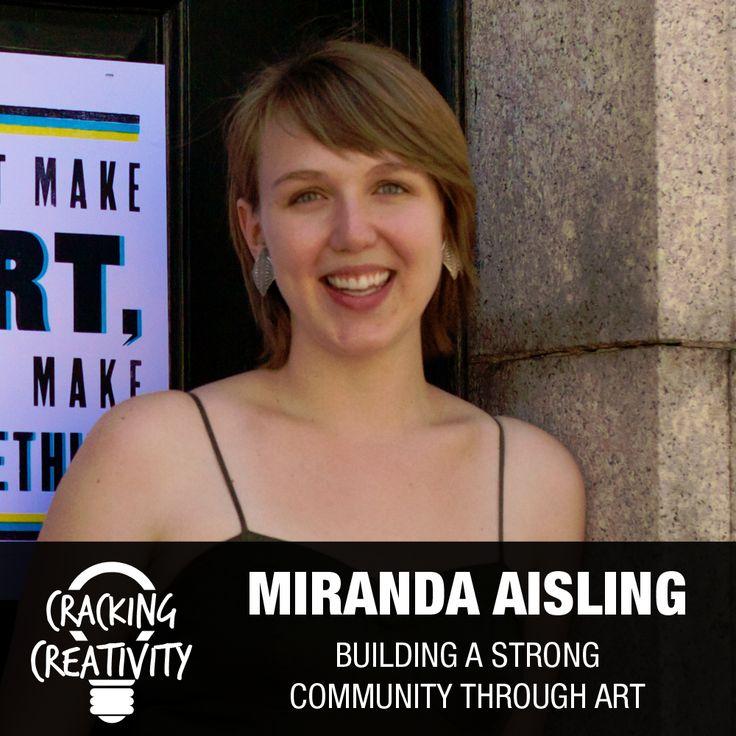 Miranda Aisling on the Importance of Experimentation, Curiosity's Role in Creativity, and the Importance of Art #podcast #CrackingCreativity #MirandaAisling http://marketingtrw.com/blog/miranda-aisling-on-experimentation-curiosity-importance-of-art-cracking-creativity-episode-51/