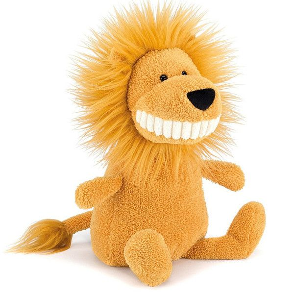 Jellycat Toothy Lion Soft Toy (Large)