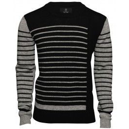 Bolongaro Trevor Grey Black Sweater - Bolongaro Trevor - Brands