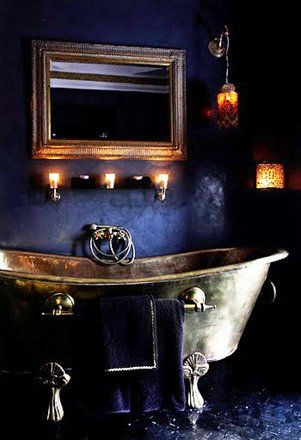 another copper bath...moody