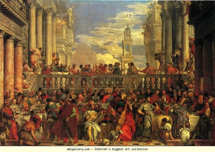 the wedding feast at cana by veronese essay 17 essays)  paul rubens in 1635 to design the ceiling paintings of the banquet -  veronese's festive marriage at cana (image 16), a spectacular example.