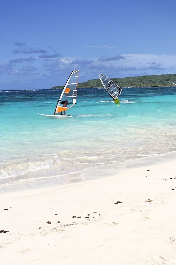 New Caledonia is one of the international well-known spot for windsurfers.