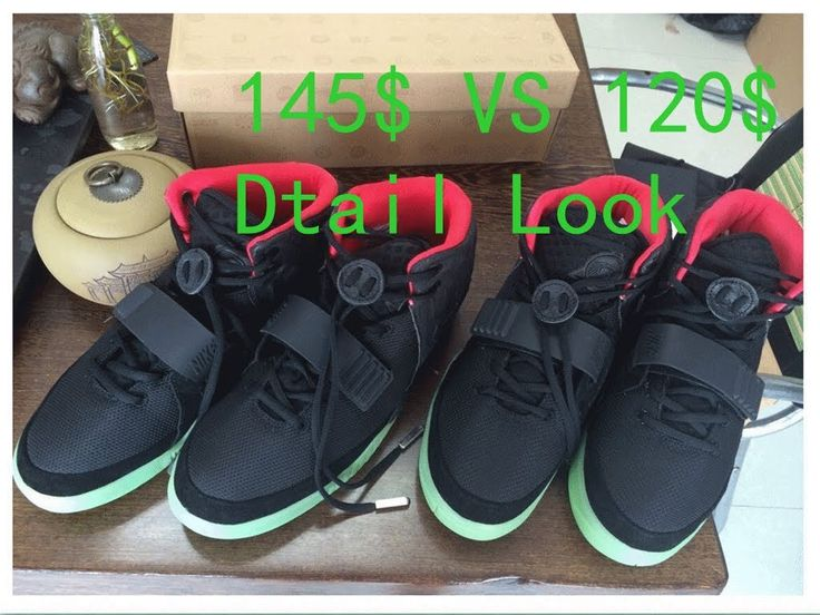 Newest Final Update VS Final Update Air Yeezy 2 Solar Red Review