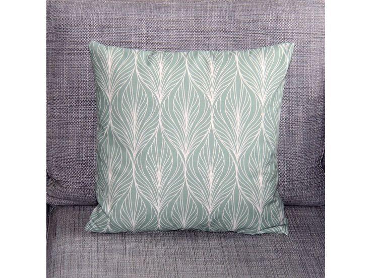 Mentolové listy. Originální dekorativní bavlněné povlaky na polštáře, šité z kvalitní designované 100% bavlny vyšší gramáže, k zútulnění vašeho domova.