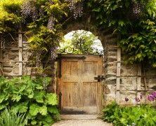 Offene Gartenpforte - Open garden door