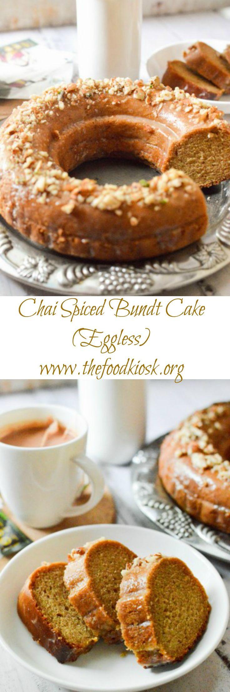 Chai Spiced Bundt Cake