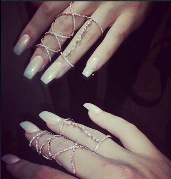 CANDACE FULL FINGER RING