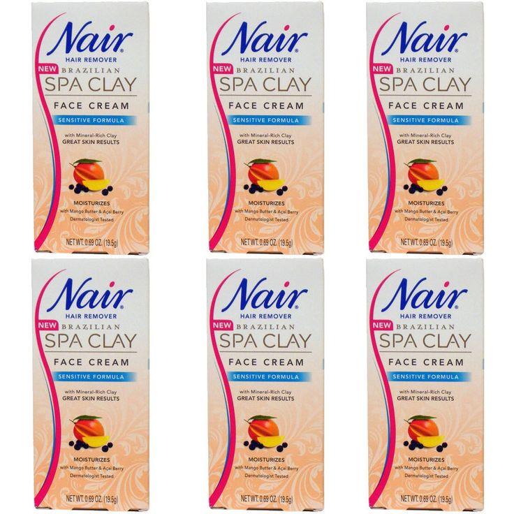 Nair Brazilian Spa Clay Sensitive Formula 0.69-ounce Face