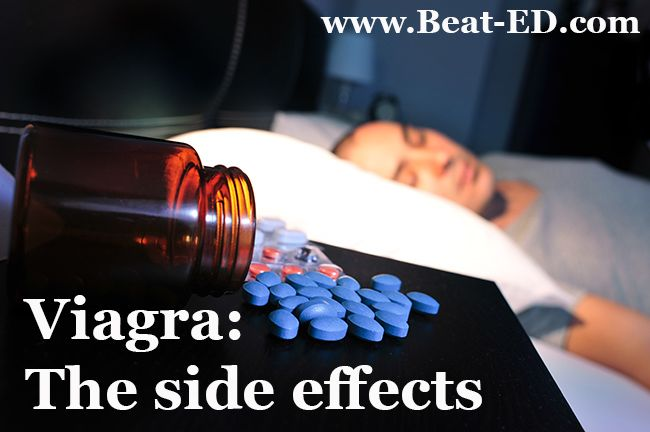 Viagra side effects can include blindness, heart attack, angina and strokes.
