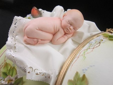 Baby Life Like Sculpture By Ros Schramm This Hand