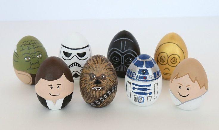 Как красиво раскрасить яйца на Пасху | Украшение ...