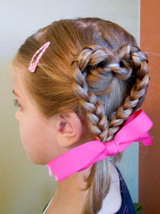 Girls Hairstyle, I actually think I could do this!!