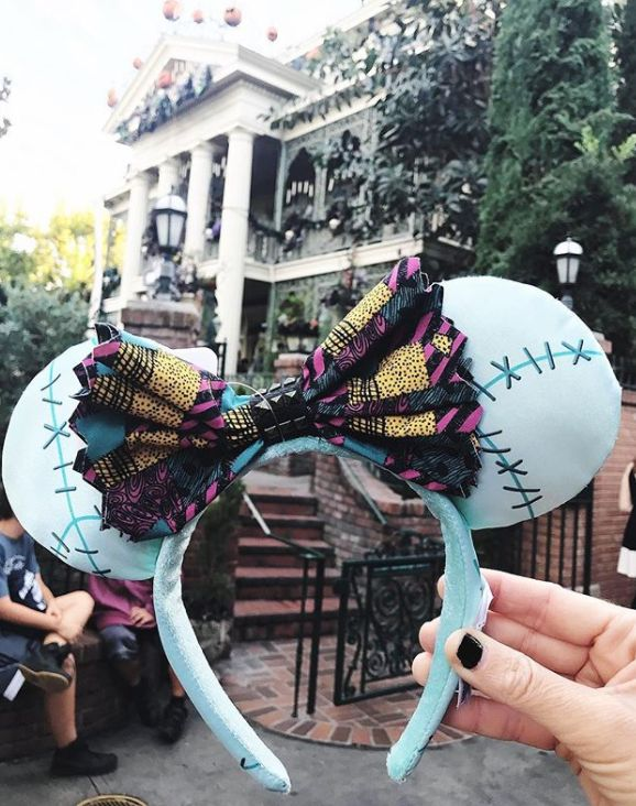 disney.doll.aimee/InstagramKATHLEEN WONG5 hours agoBEAUTY & STYLE SHARE  TWEET  PINYour favorite lovable but creepy animated Disney movie just got Minnie-fied, now that Disney released new Minnie Mouse ears inspired by Sally from Tim Burton's classic The Nightmare Before Christmas.