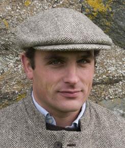 Harris Tweed - Flat cap