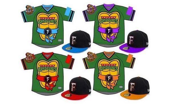Cowabunga: The Fresno Grizzlies will be ready to fight crime in these #TMNT jerseys --> http://yhoo.it/1qq4Tj3  #SFGiants #Baseball #MiLB #Sports #MLB #Giants