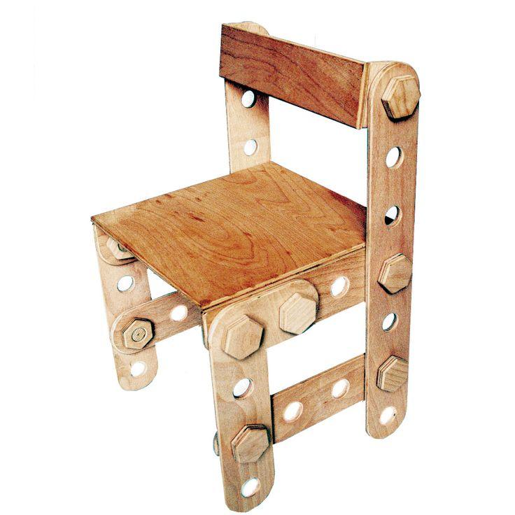 Dětská židle - LEXAcon Stavebnice je vyrobena z bukové překližky vyráběné v ČR a určené pro nábytek. Síla materiálu je 12 mm. Provedení naturální, bezbarvé a nelakované. Je možné výrobek opatřit bezbarvým lakem určeným pro dětské hračky a také nabízíme 4 barevné varianty, které máme i v logu výrobku. Jedná se o barvy - červená, modrá, žlutá, zelená viz. ...