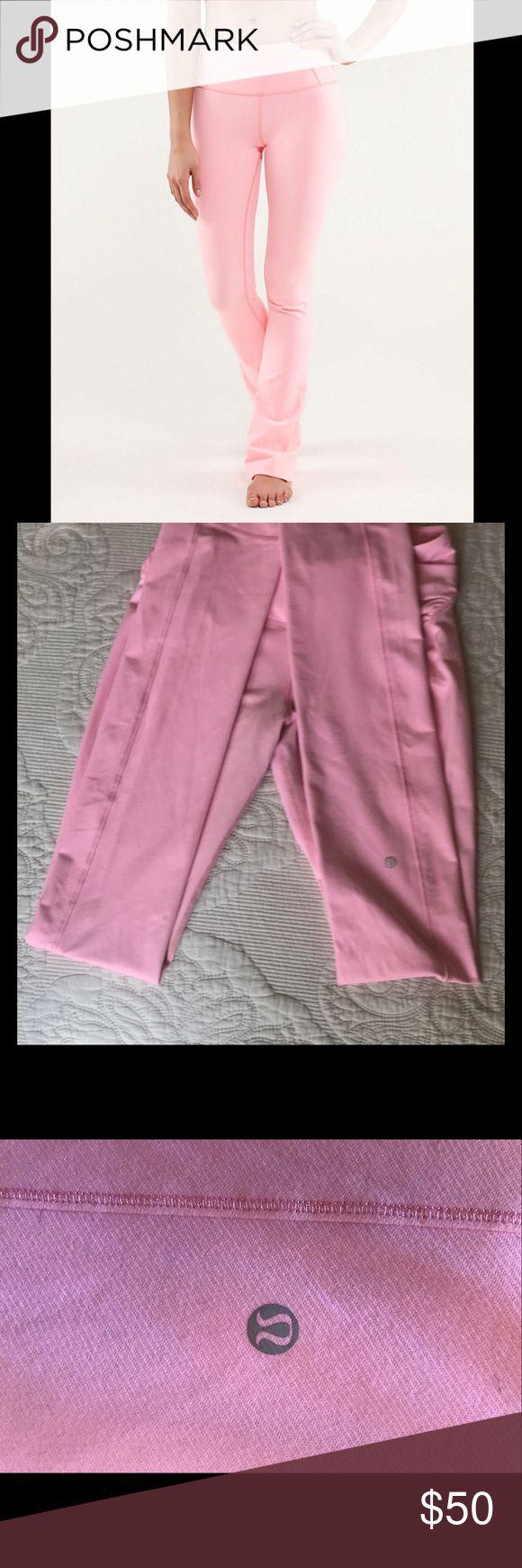 Lululemon Pink Yoga Pants * Size 8 TALL*     Length: 44in lululemon athletica Pants Track Pants & Joggers