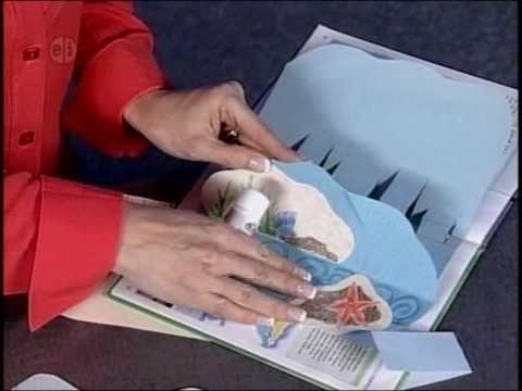 How to Make a Pop Up Book using Elmer's Glue Sticks - YouTube